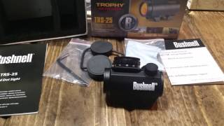 Bushnell TRS-25 micro red dot!!!!!!
