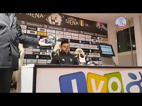 Robur Siena-Pisa 0-0: Anna Durio, Pazienza, Sbraga e Mignani