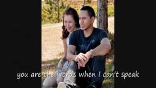 the love i found in you by jim brickman (w/ lyrics)