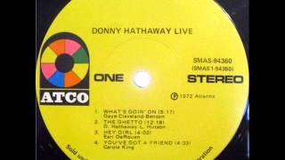 Donny Hathaway - The Ghetto (Live Version)