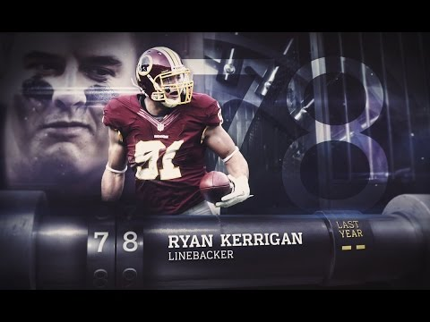 #78 Ryan Kerrigan (LB, Kerrigan)   Top 100 Players of 2015