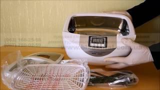 Ультразвуковая ванна Codyson CD-4820 (2,5л. Функция подогрева) - видео 1