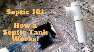 Septic 101 - How does a Septic Tank Work?