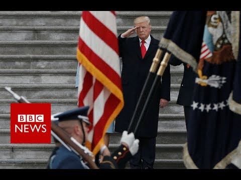 Trump: Transgender people 'can't serve' in US military - BBC News