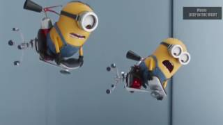 BMW VS Mercedes Benz of minions   Music  DEEP IN THE NIGHT