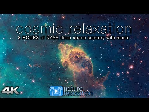 Всё духовное — 8 HOURS of COSMOS Footage in 4K UHD + Chill Music