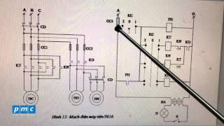 PMC - Cấu tạo mạch điện máy điện T616