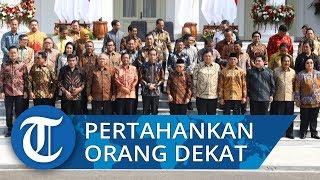 Menteri Kabinet Indonesia Maju Resmi Dilantik, Jokowi Pertahankan Tiga Orang Dekatnya di Istana
