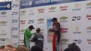 2016 Chevrolet Dual In Detroit Race 1 Victory Celebration
