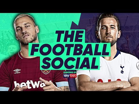 LIVE: West Ham 0-1 Tottenham | #TheFootballSocial