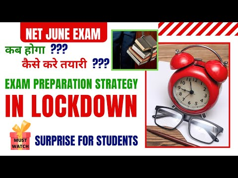 NET EXAM PREPARATION STRATEGY -JUNE 2020    KNOW HOW ...