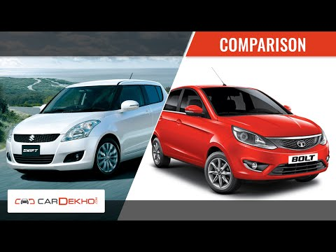 Maruti Swift vs Tata Bolt | Video Comparison Maruti Videos