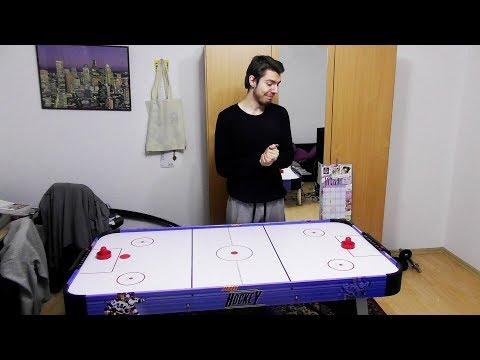Ich habe mir einen Airhockey Tisch gekauft