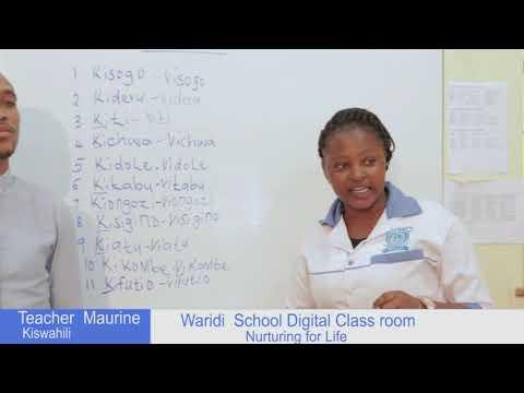 GRADE ONE - KISWAHILI ONLINE LESSON 1