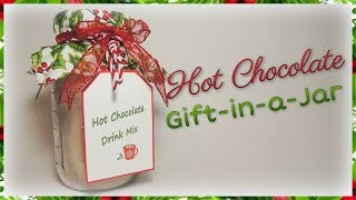 Hot Chocolate Gift-in-a-Jar
