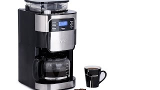 Review Vivo © 1.5L Bean to Cup Digital Stainless Steel Filter Coffee Maker Machine