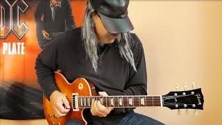 AC/DC - Big Gun - NEW - Full guitar cover - for Brian