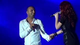 "ARASH feat EMELIE ""Broken Angel"" Live @ Media City Amphitheatre Dubai Jan 21 2012"