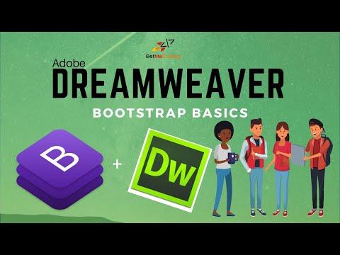 A Dreamweaver Bootstrap Basics Tutorial - Responsive Websites