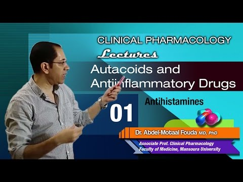 Autacoids - 01- Histamine and H1 blockers