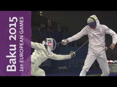 Men's Individual Epee Final Full Replay | Fencing | Baku 2015 European Games