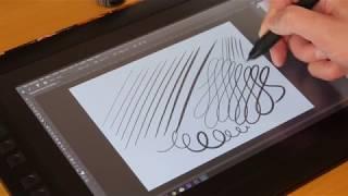 XPPen 13.3 V2 im Test / Review - Anschluss und erste Digital Painting Übungen