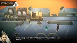 Deus Ex GO - Level 54 - Gold (Mastermind) Guide & Both Endings