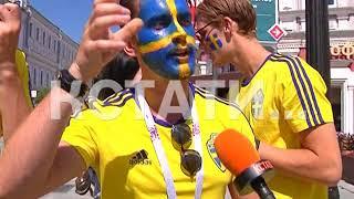 Желто-красный город - футбольные болельщики со всего мира в Нижнем Новгороде