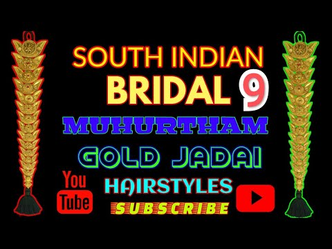 South indian bridal wedding hairstyles