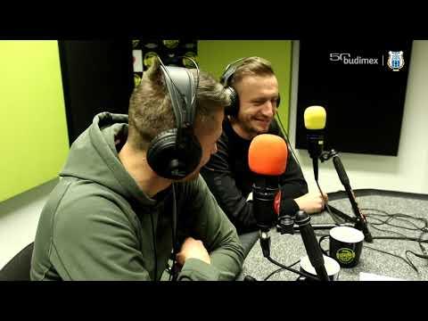 Paweł Głowacki i Łukasz Jegliński w radiu UWM FM