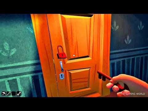 HOW TO UNLOCK DOUBLE JUMP ABILITY || Hello Neighbor Gameplay
