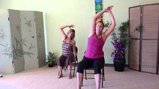 Stretches for Low Back Pain - do them right now in your Chair!