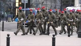 MK. 31.10.2020r WARSZAWA Wojsko na ulicach Warszawy