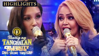 Roxanne and Ethel's English-speaking showdown | Tawag ng Tanghalan