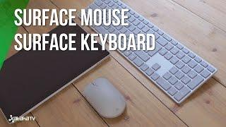Microsoft Surface Keyboard y Surface Mouse: menos no siempre es más