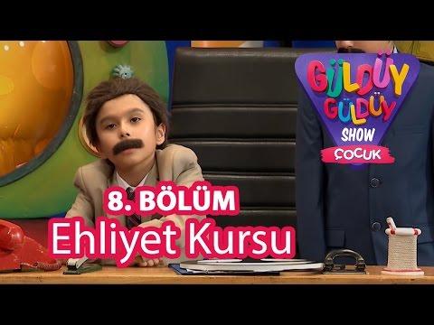 Güldüy Güldüy Show Çocuk 8. Bölüm, Ehliyet Kursu Skeci