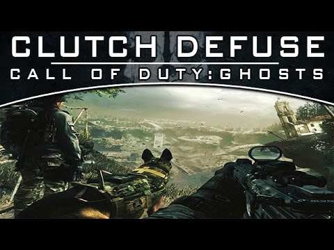 Clutch Defuse -0.1s (Call of Duty:Ghosts)