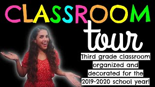 ✏️MY COLORFUL CLASSROOM TOUR! Happiest Classroom in the World! 😄 2019-2020