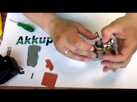 Akkureparatur - Zellentausch - TECHLINE P 206 - 9,6 Volt Akku