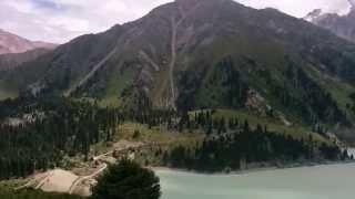 preview picture of video 'Большое Алматинское озеро'
