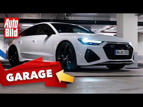 "Audi RS 7 (2021) | RS 7 im AUTO BILD-""Garagen-Check"" | mit Conny Poltersdorf"
