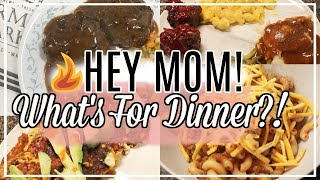 🍴🥓🌯 What's for Dinner? | Easy Affordable Family Meal Ideas For Busy Moms | Love Missy XO