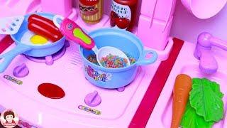 ละครสั้น ร้านอาหารตามสั่งเจ๊นุ้ยเปิดแล้วจ้า ร้านอาหารของเหล่าฮีโร่และเจ้าหญิง Cooking Kitchen Toy