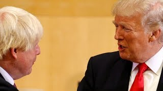 video: How can Boris Johnson survive a presidential visit that promises chaos?
