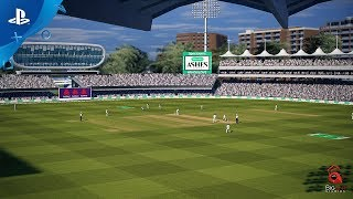 Picture of a game: Cricket