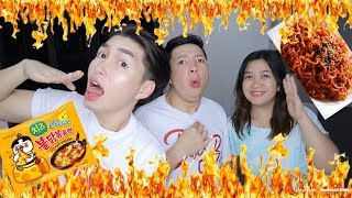 SPICY NOODLE CHALLENGE FT. FAMILY (KAGULO BES)