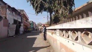 2016. Вот так живут люди в Индии. Простая улица рядом с ашрамом. Пранаяма с Доктор Перч