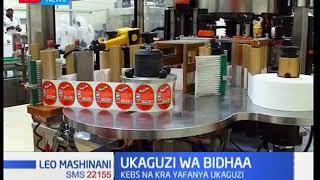 KEBS na KRA yafanya ukaguzi wa ghafla katika kiwanda cha kutengeza vinywaji cha Zheng Hong Kenya