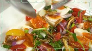 SistaCafe Channel : วิธีทำยำไข่เค็ม