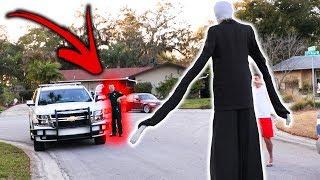 SLENDER MAN DING DONG DITCH PRANK GONE WRONG!! (Ft. JonVlogs) | JOOGSQUAD PPJT